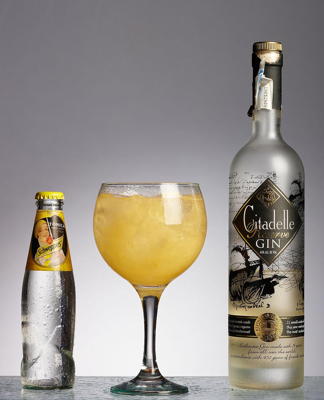 Gintonics para el Bar Alai - Iñaki Caperochipi - Fotografía