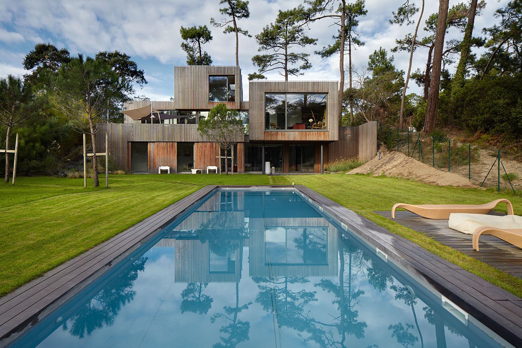 Villa en Chiberta - Iñaki Caperochipi - Fotografía