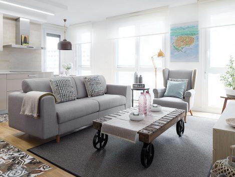 Apartamento Lizarra - Iñaki Caperochipi