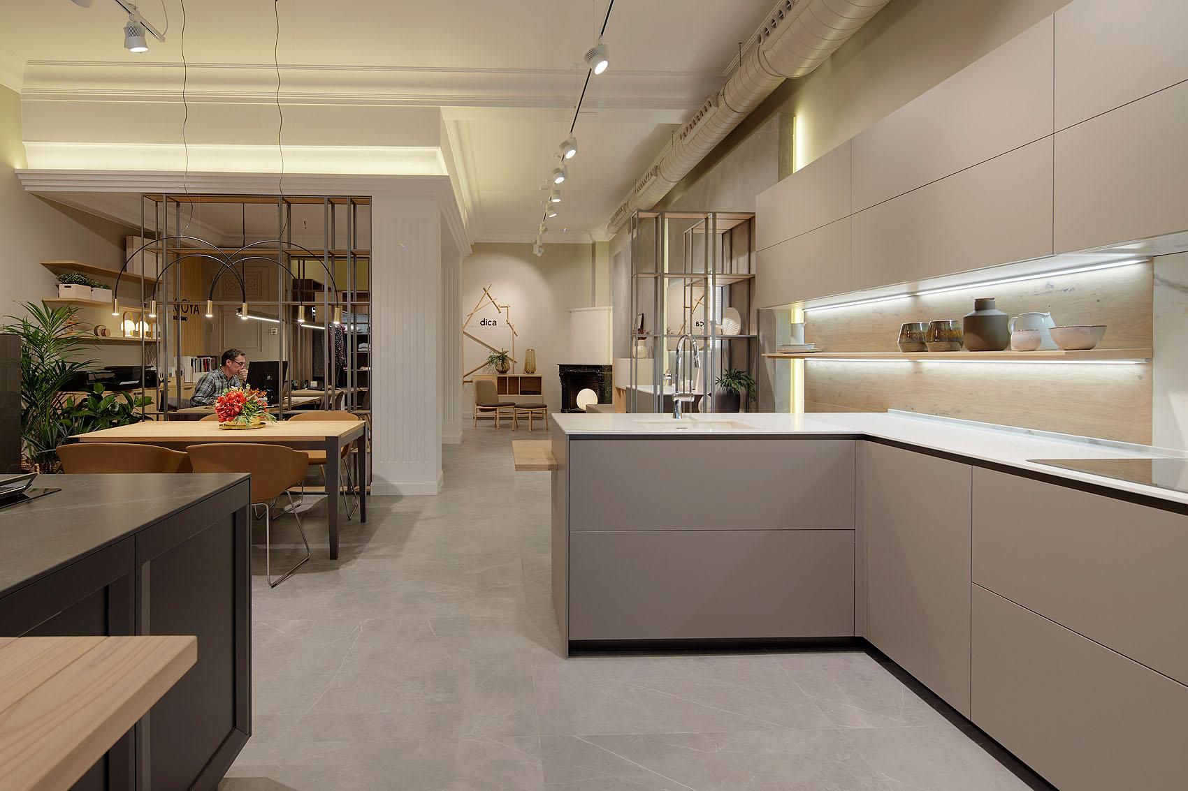 Nuevo Showroom de Secoya Interiorismo - Iñaki Caperochipi - Fotografía