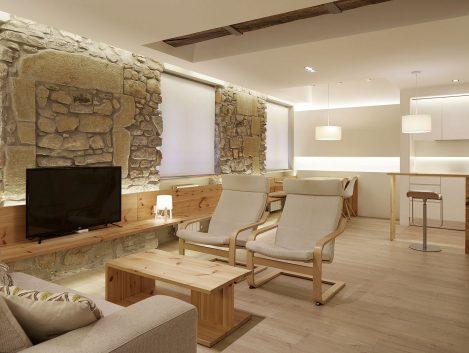 Apartamento en la Parte Vieja donostiarra - Iñaki Caperochipi