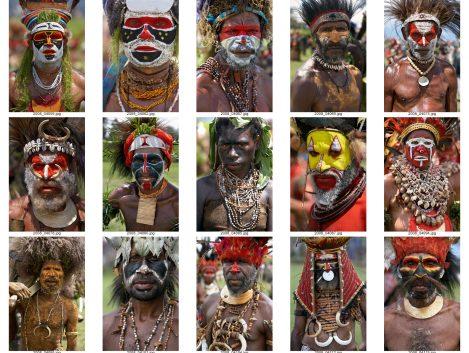 Retratos Papua Nueva Guinea - Iñaki Caperochipi