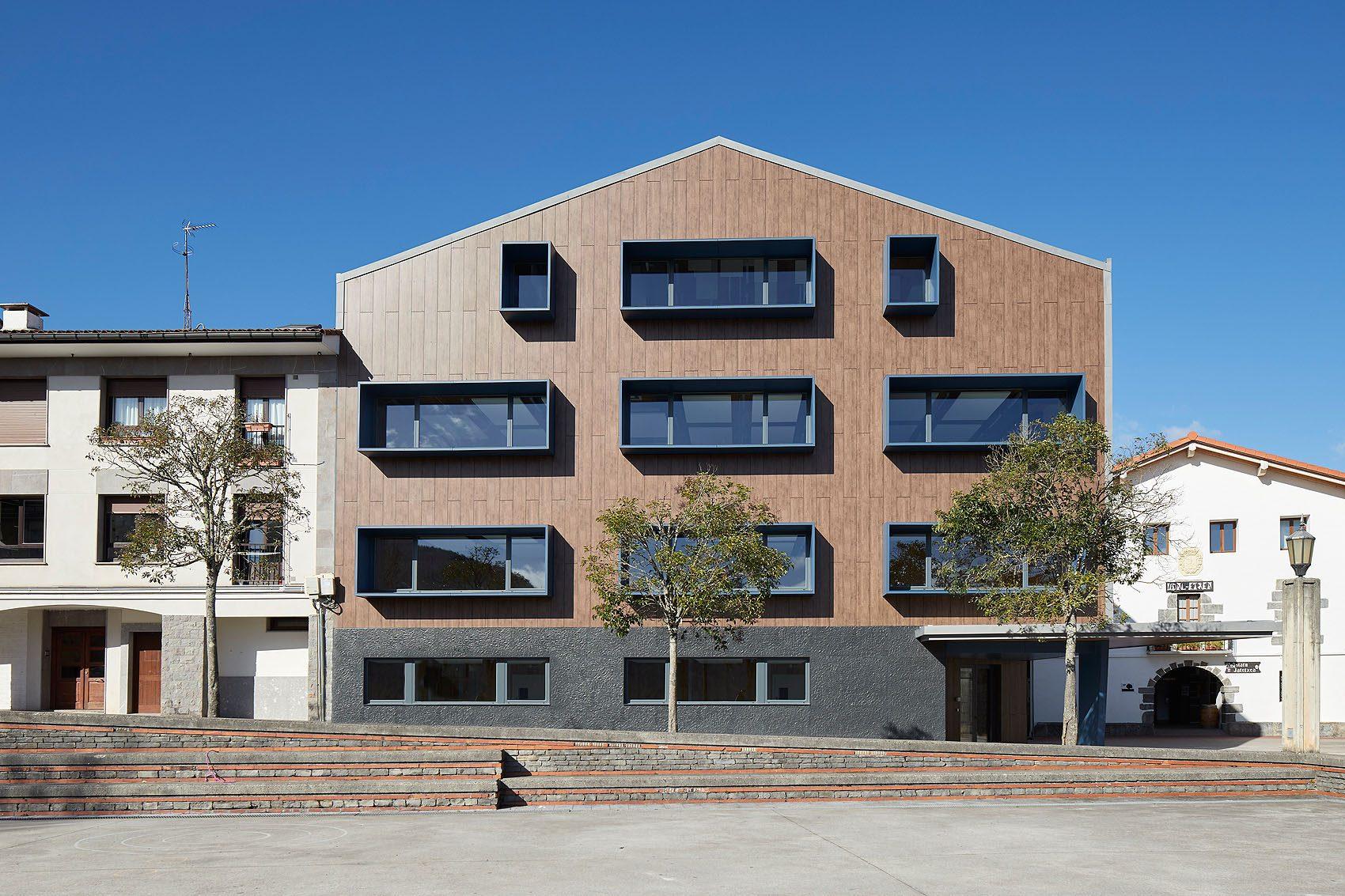 Nuevas escuelas de Alkiza - Iñaki Caperochipi - Fotografía