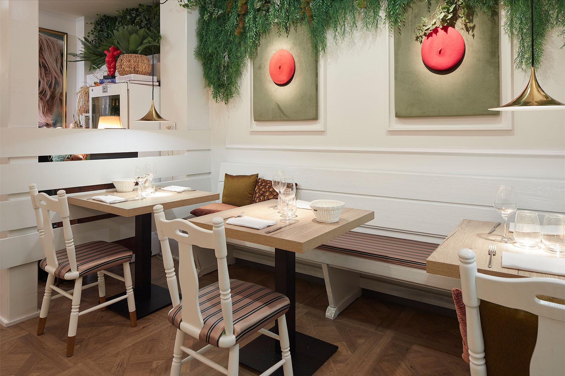 Restaurante Alderdi Zahar - Iñaki Caperochipi - Fotografía