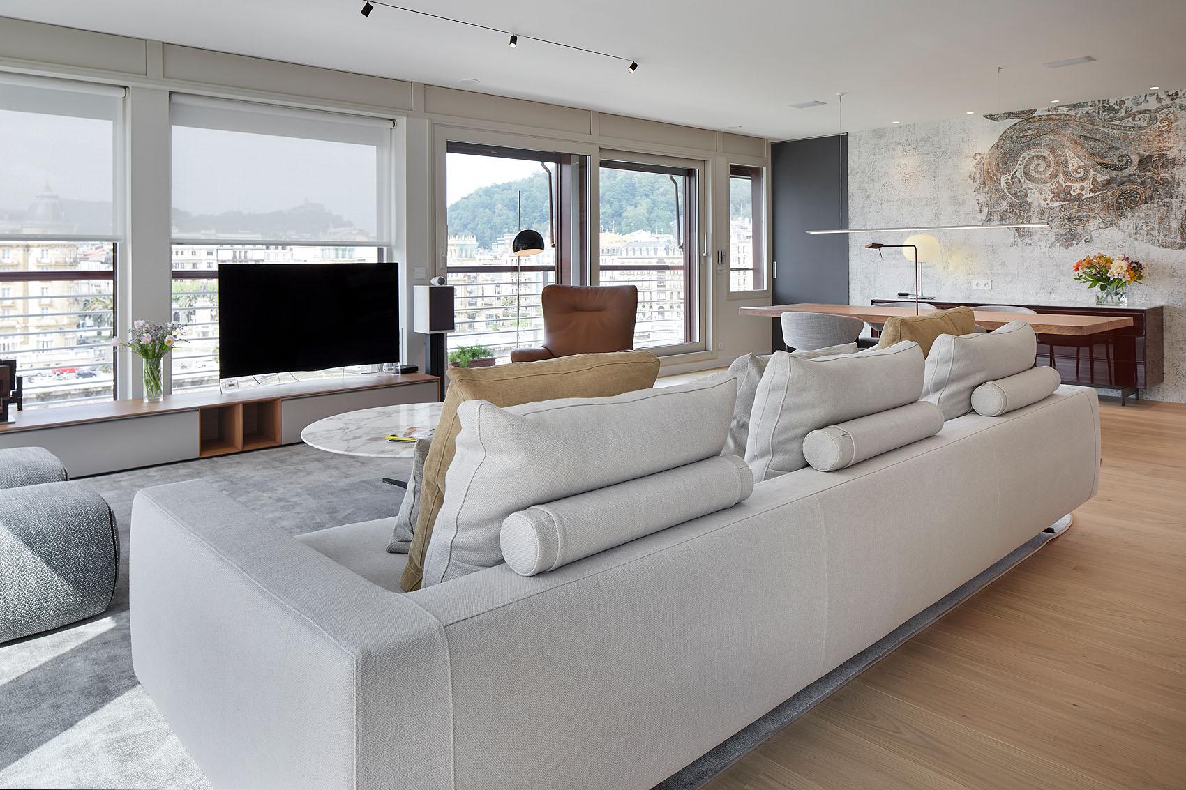 Apartamento con vistas al Urumea en San Sebastian - Iñaki Caperochipi - Fotografía